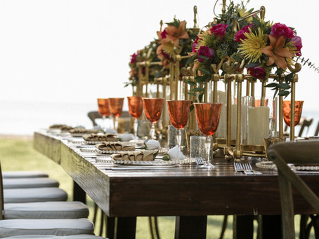 5 Food Serving Styles for Your Wedding Reception