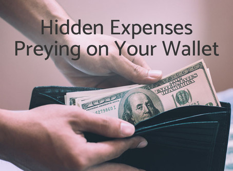 Hidden Expenses Preying on Your Wallet