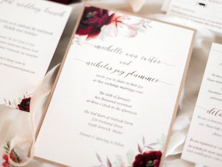 Guide to Choosing Your Wedding Invitations