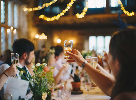 3 Tips to Ensure Your Wedding Guests Go Home Full