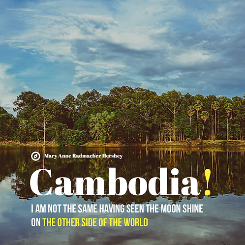 347 - Escape to Cambodia across shimmering waters!