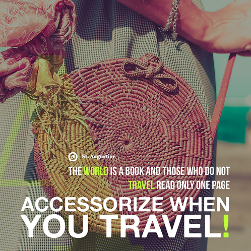 441 - Add the ACCESSORY of travel to your life. Have you got yours?
