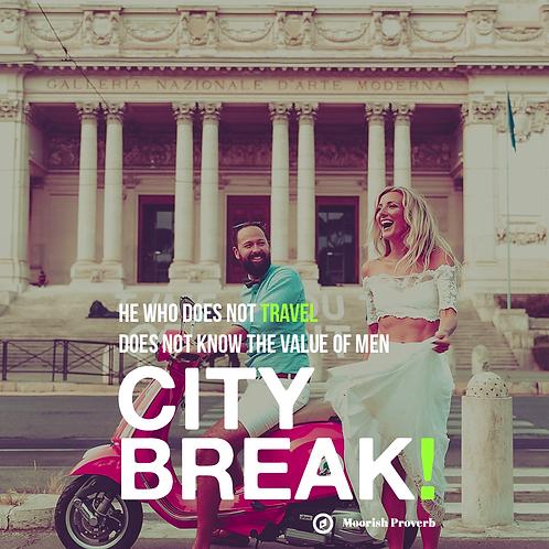 447 - Escape on an architectural city break ADVENTURE!