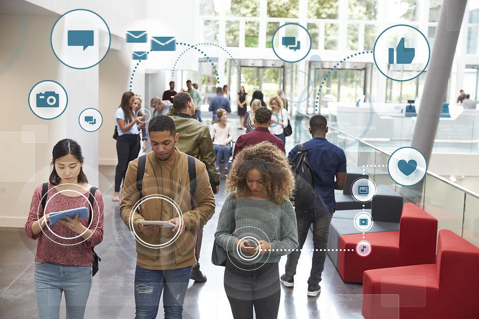 Millennials Using Social Media With Icons.jpg