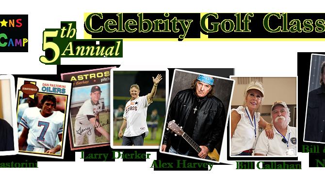 Champions Celebrity Golf Tourney!