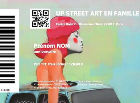 ORGANISEZ SON STREET ART ANNIVERSAIRE/ LE MUSEE À CIEL OUVERT DU 13ÈME