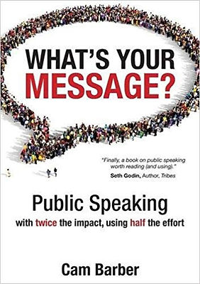 What's Your Message by Cam Barber, Recommended Reading