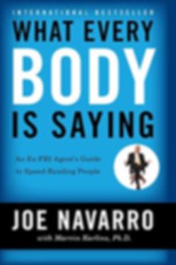 Book Cover by Joe Navarro