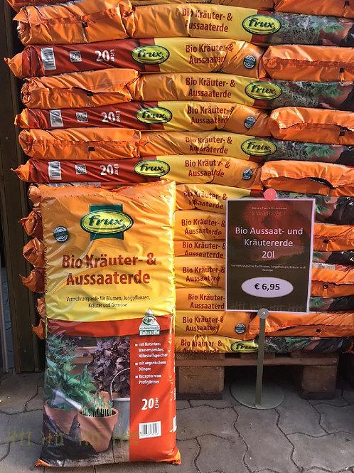 Bio Kräuter- & Aussaaterde  - 20 Liter