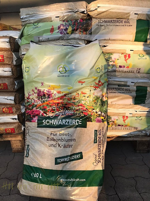 Schwarzerde, Original - 60 Liter