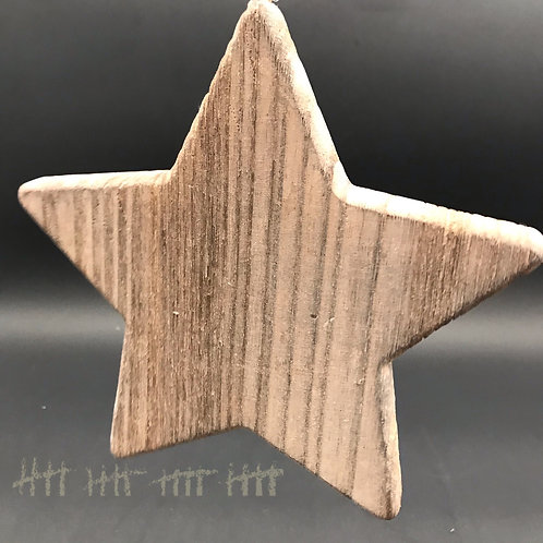 Holzstern groß