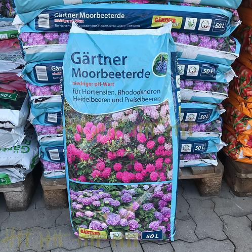 Moorbeeterde - 50  Liter