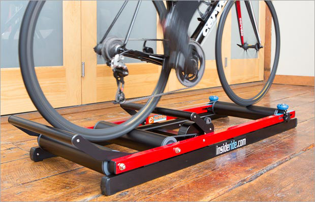 Single-Leg Pedaling on E-Motion Rollers