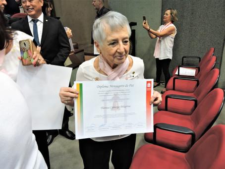 Homenagem da Associação Comercial de São Paulo ao Grupo de Voluntários da PRÓ-PM
