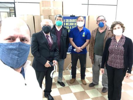 ACSP doa 2.000 itens de proteção ao Hospital da Polícia Militar