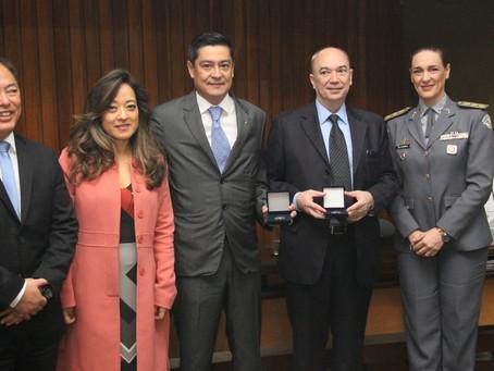 Cerimônia na ALSP dá início às comemorações dos 20 anos da PRÓ-PM.