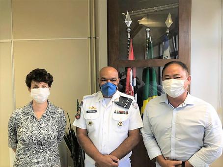 PRÓ-PM dá boas vindas ao novo Diretor de Saúde e renova seu apoio aos órgãos de saúde da PM