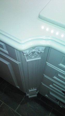 Detail Wood-Mode Cabinetry