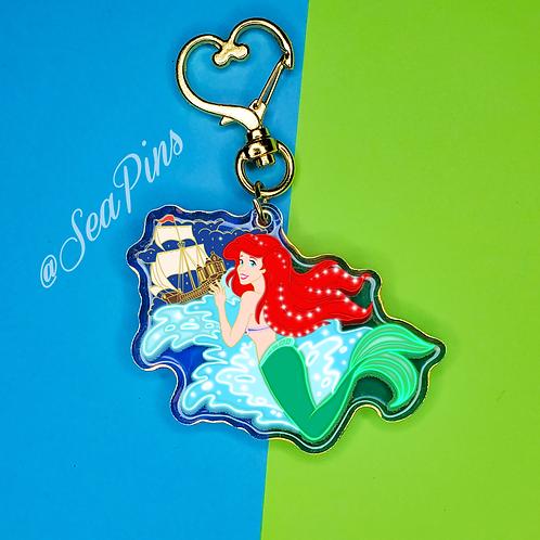 Ariel in sea