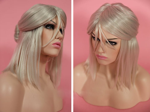 Cirilla Witcher  Cosplay Wig