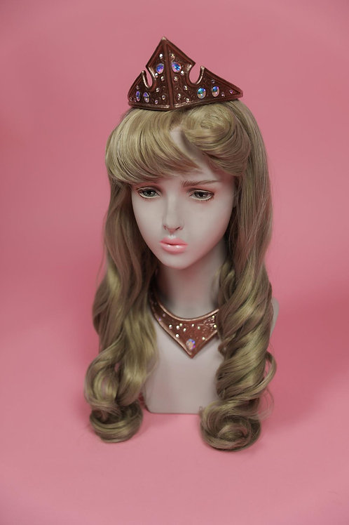 Aurora Cosplay Wig Disney Sleeping Beauty
