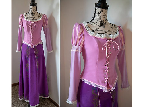 READY TO SHIP! Tangled - Rapunzel Disney Cosplay