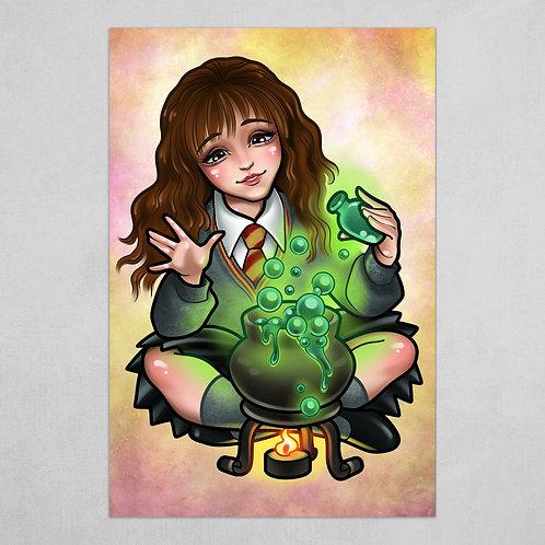 Hermione Granger -  Harry Potter art
