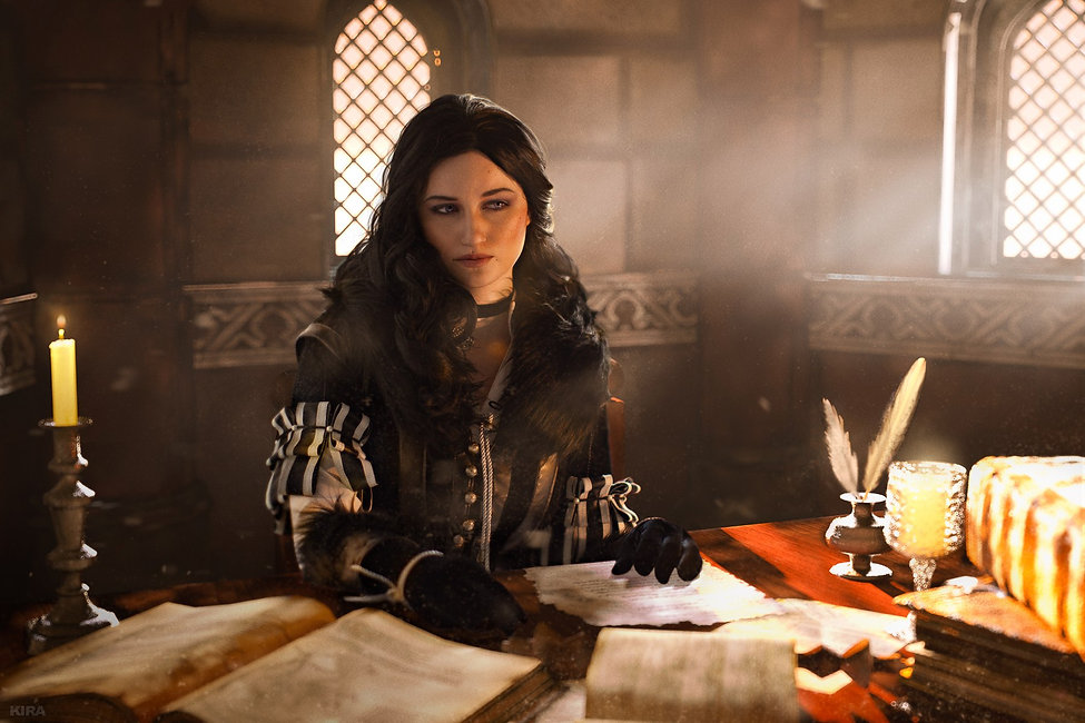 Yennefer Cosplay Claire Sea Witcher 3