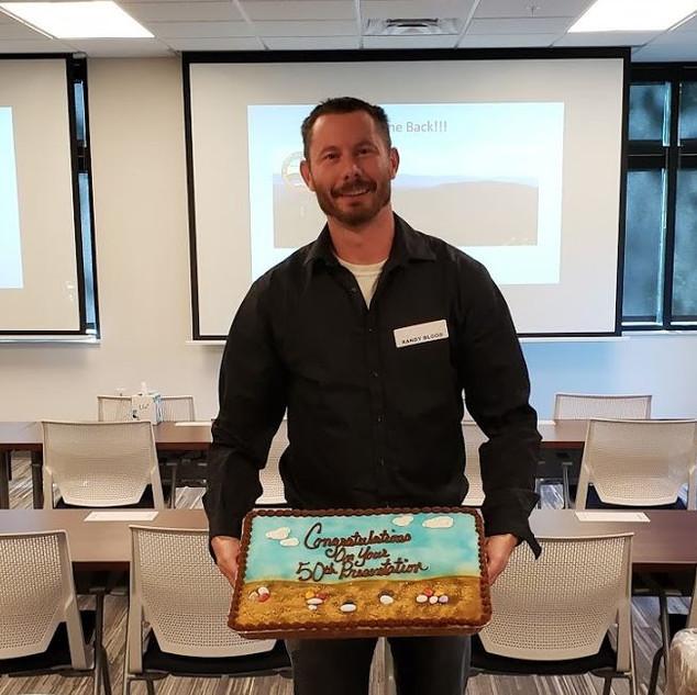 Randy Blood's 50th Presentation Cake.JPG