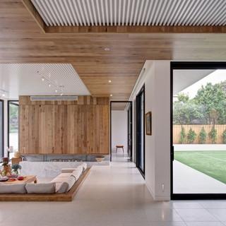 modern-ceiling-medallion-kitchen-contemp
