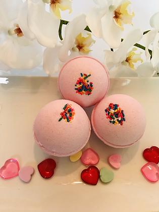 Rose Berry Bath Bombs