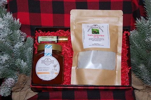 Elderberry & Honey DIY Kit w/ Lavender Essential Oil
