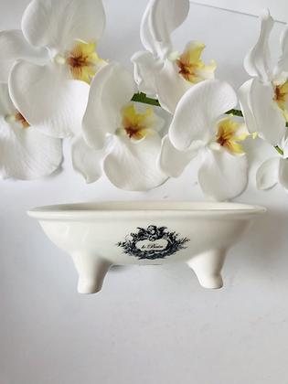Ceramic Victorian Soap Dish