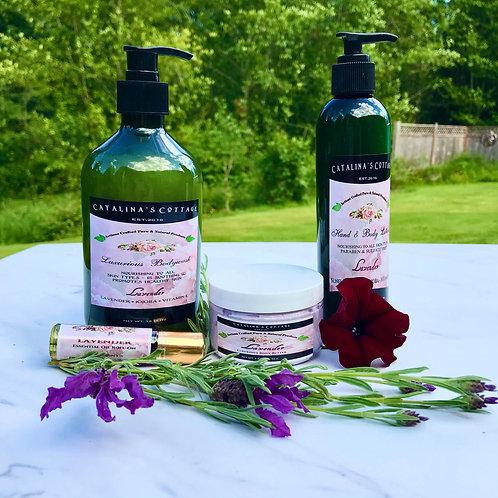 Gift Pack -Lavender 4 item Self Care Kit