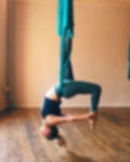 Kathleen Booyse Yoga Suspension Yoga