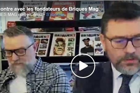 Le facebook live du 30 décembre 2020 - rencontre avec les deux fondateurs de Briques Mag