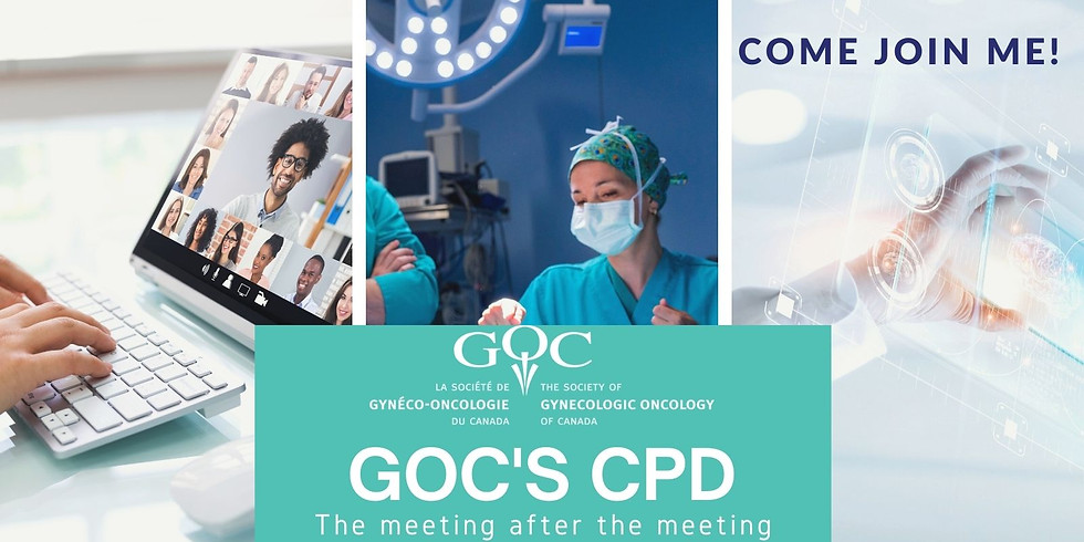 GOC's CPD-The meeting after the meeting