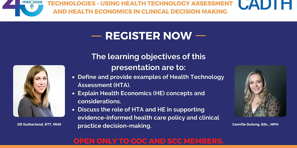 Finite Resources in a World with Infinite Health Technologies - Using Health Technology Assessment and Health Economics