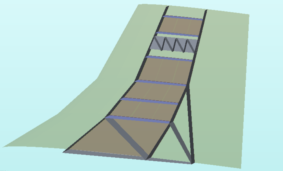 Internal Vertical Tail Structure