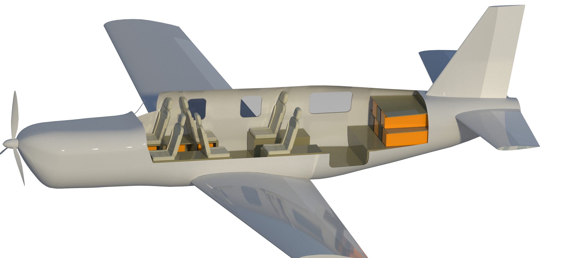 Interior - Business Jet Configuration