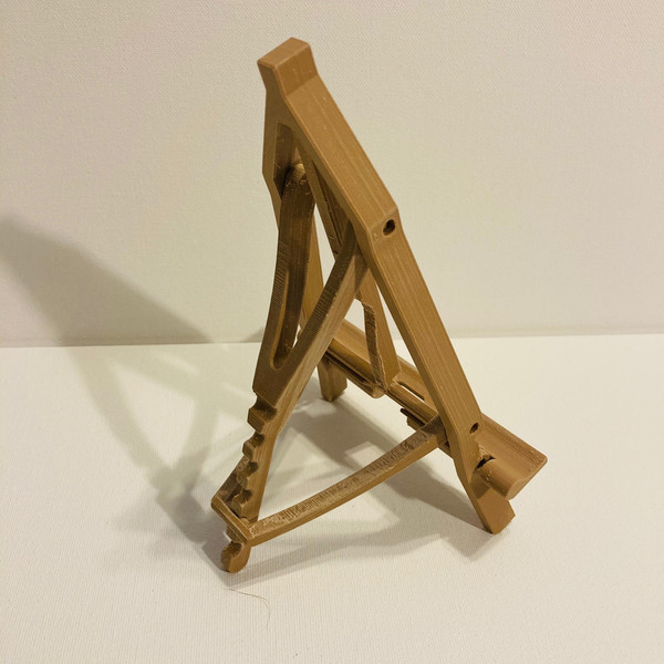 Easel from Behind