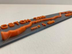 3D Printed Boston Marathon