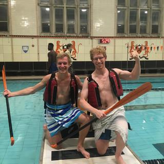 Cardboard Canoe Champs