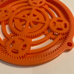 Open Planetary Gear System
