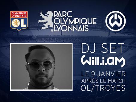 Inauguration Parc Olympique Lyonnais le 9 décembre 2015 - Ol/Troyes - Will-i-am