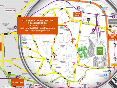 City Break Lyon Eurexpo Parc OL