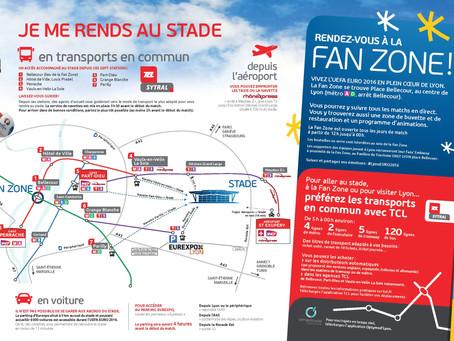 Euro 2016 Se rendre au Stade de LYON et à la Fan Zone !