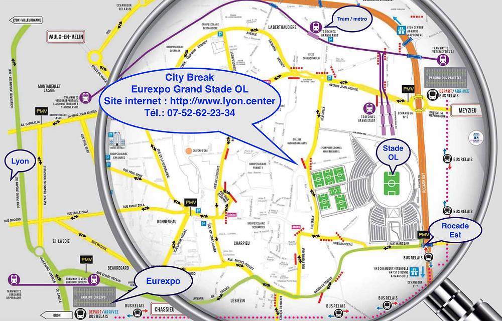 City Break Eurexpo Grand Stade OL