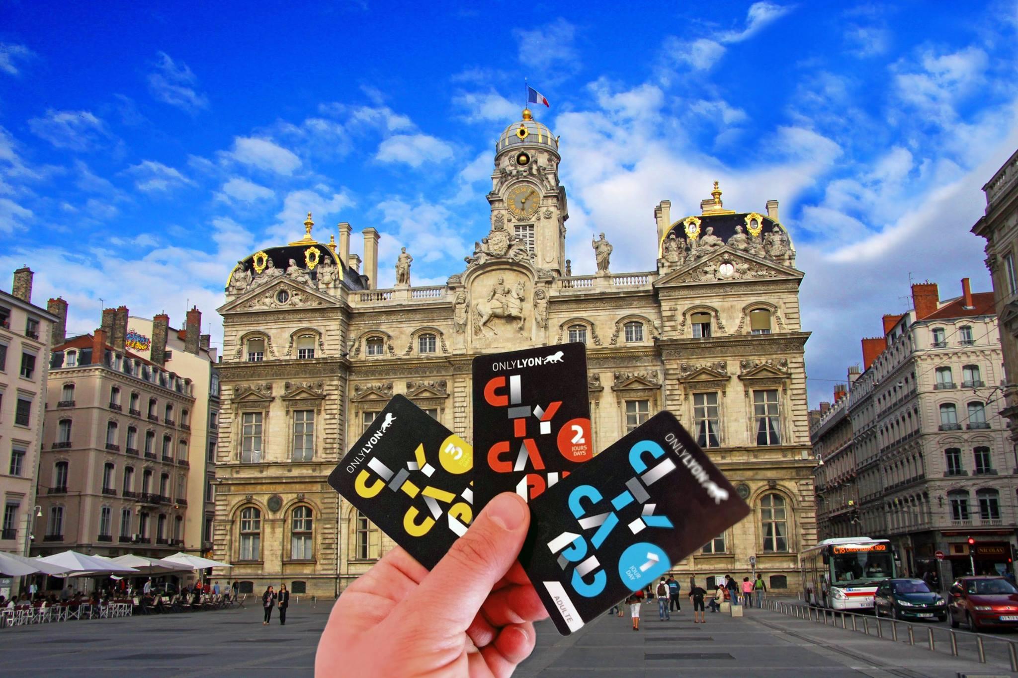 Lyon city Card 22 musées+Transports