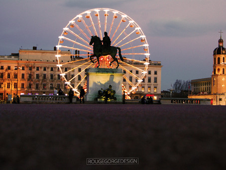 Grande Roue Lyon - Place Bellecour 2015